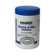 GRASSO AL LITIO MULTIUSO PROFESSIONALE MAURER BARATTOLO DA 1 KG PER INDUSTRIA