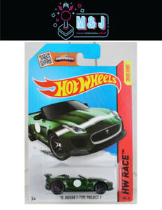 Hot Wheels '15 Jaguar F-Type Project 7  185/250  (Aussie Seller)