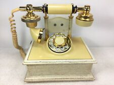 Vintage Princess Phone Rotary Northern Electric Deco-Tel D-C1320W Untested Nbtel