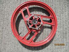 YAMAHA RD 350 YPVS F2 N2 FRONT WHEEL ( F+R ) ORIGINAL RED
