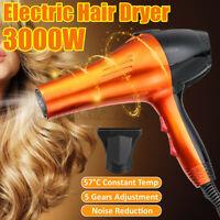 3000W Hair Dryer Blow Dryer Women Professional Blower Beauty Best Travel