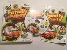 NINTENDO Wii VIDEO GAME FAMILY PARTY OUTDOOR FUN +BOX INSTRUCTIONS COMPLETE PAL