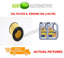 PETROL OIL FILTER + LL 5W30 ENGINE OIL FOR BMW Z4 SDRIVE 35IS 3.0 340BHP 2010-