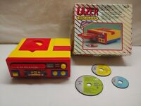 Vintage Image Toy Kids Cd Player Lazer-Disc Music Player WORKS!