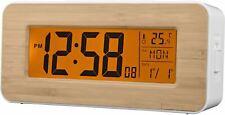 Acctim Otto Radio Controlled LCD Digital Alarm Clock