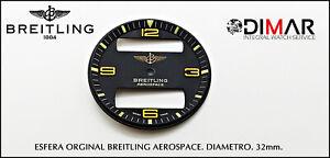 Viintage Zifferblatt Orginal Breitling Aerospace. Diametro. 32mm