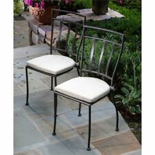 Alfresco Home Semplice Patio Dining Chair in Charcoal (Set of 2)