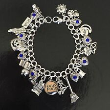 Hocus Pocus Charm Bracelet, Halloween, Witches, Magic, Movie, Film, Costume