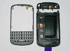 Black housing cover fascia facia faceplate case for BlackBerry Q10