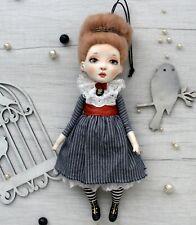 "Artist OOAK doll pendant ""Sue"""