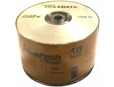 100 Traxdata Blank CD-R Non Printable 700MB 52X Speed 80 Minute 1 x 50 Pack