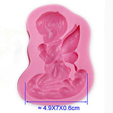 Angel Shape Silicone Molds Fimo Resin Polymer Clay Fondant Cake Chocolate Mould