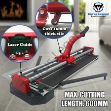 Heavy Duty Manual Tile Cutter Laser Level 600mm Ceramic Tile Flooring Cutting