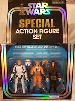 SDCC 50 2019 Star Wars Luke Skywalker Special Action Figure Jedi Destiny Set New