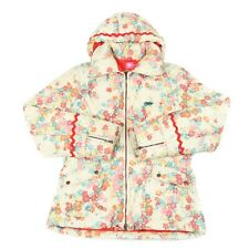 OILILY Quilted Fleece Lined Jacket | Padded Insulated Hooded Ski Vintage Floral