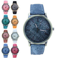 Fashion Women's Watch Roman Numerals Leather Analog Quartz Wrist Watches New jx