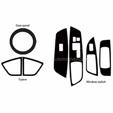 Decal Sticker Carbon Fabric Window Switch For Hyundai Veloster