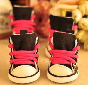 Pet Dogs Booties Casual Non-slip Shoes Dog Cats Comfy Winter Foot Wear 4pcs/lot