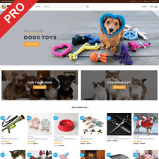 Professional Dropshipping Store - PET SUPPLIES - eCommerce Website Business
