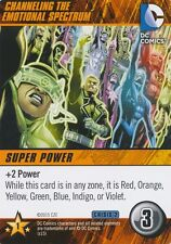 CHANNELING THE EMOTIONAL SPECTRUM DC Comics Deck Building Game card CRISIS 2