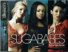 "SUGABABES - 5"" CD - Follow Me Home (Radio edit) UK Promo  Island"