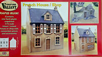 French House/Shop Casa Francese WWII Sana/Distrutta Valiant Miniatures Kits 1:72