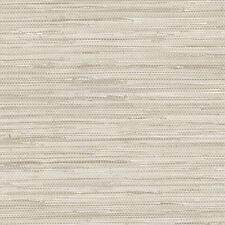 Beige et Gris Faux Grasscloth Papier-Peint PA34210