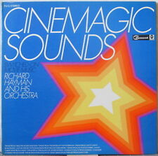 RICHARD HAYMAN & ORCHESTRA Cinemagic Sounds—Switched-On Movie Music LP Gatefold