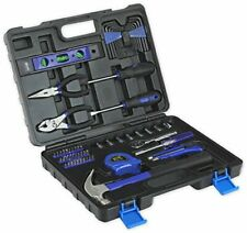 65-Piece Tool Set - General Household Hand Tool Kit with Toolbox Storage Case