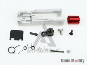GunsModify Aluminum CNC Zero Housing Set for TM Marui G17 w/ RMR Cut GBB #GM0162