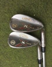 Callaway Chrome-Plated Steel Head Golf Clubs