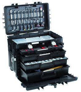 GT Werkzeugkoffer ALL.IN.ONE AI1.KT01 ohne Inhalt Werkzeugbox mit Schubladen