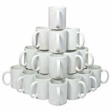 36pcs/Carton 11OZ 3D Sublimation Blank White Heat Press Coated Mugs New