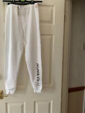 Riverisland Girls Active Wear White Jogger Age 11-12yrs