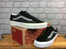 VANS UK 7 EU 40.5 OLD SKOOL GREY BLACK TRAINERS LADIES MENS UNISEX   LG