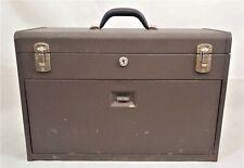 Vintage Kennedy Kits Tool Box Machinist Chest Felt Lining 7 Drawer Model 520