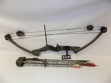 Darton USA Compound Bow Right Hand RH Hunting Vintage w/ Quiver & Arrows