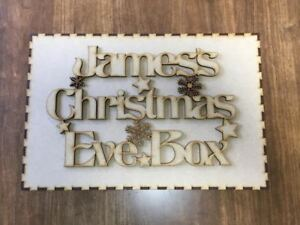 Laser Cut Christmas Eve Box - Memory Birthday Box Wood Crafts