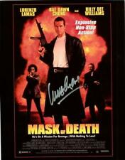 Lorenzo Lamas Autographed 8x10 - Mask of Death