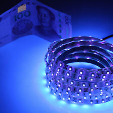 1m 12V 3528 395-405nm UV Ultraviolet waterproof 60 led Strip black tape light