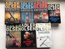 Adler Olsen Verachtung  Erlösung  Schändung Das Alphabethaus Erbarmen Takeover