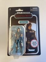 "HASBRO MANDALORIAN STAR WARS VINTAGE COLLECTION 3.75"" CARA DUNE CARBONIZED"