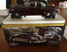 Model-Icons INSPECTOR MORSE Jaguar Mark 2. Special Edition. Burgundy Scale1:18