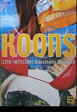 Jeff Koons Exposition Poster Affiche Signée Signed Autograph signature