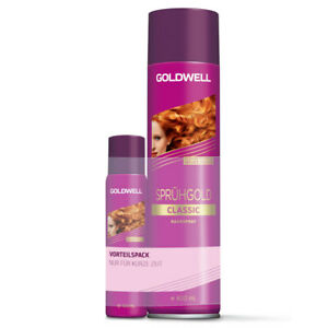 (18,56€/L) Goldwell Sprühgold Classic Onpack Sleeve 600ml+100ml Haarspray fein