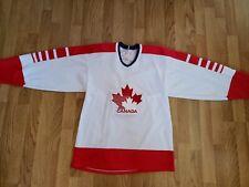 Vtg 1983Team Canada CCM Olympics Hockey Jersey Sz M  Made In Canada
