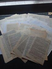 100 Pieces Vintage Paper Book Pages