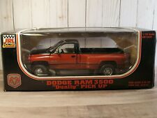 Jrl Dodge Ram 3500 Dually V10 Pickup Truck 1:18 Scale Diecast Red/Blk 1997 Anson