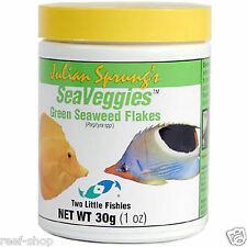 Fish Food Flakes Green Sea Veggies 30 gram Two Little Fishies FREE USA SHIPPING