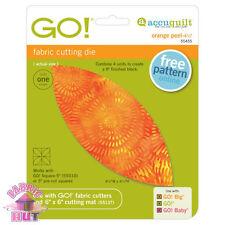 55455- New Accuquilt GO!, Baby & Big Orange Peel Fabric Die Applique Block Cut